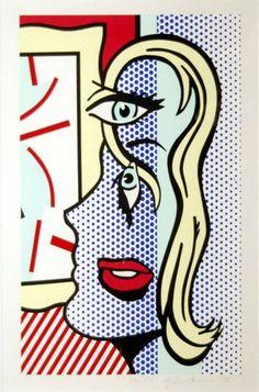 Painting by Roy Lichtenstein.