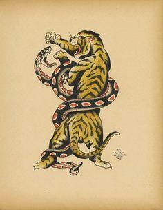 Tiger Snake Old School