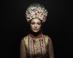 Rejdova, Slovakia - photography by Petra Lajdová Petra, Shaman Woman, Bratislava Slovakia, Bridal Headdress, Heart Of Europe, Ethnic Outfits, Prague Czech, Folk Costume, People Around The World