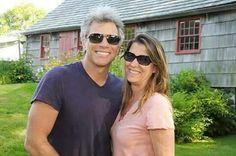 Jon Bon Jovi and Dorothea Hurley- The Hamptons