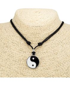 Yin Yang Wolf Sun Moon Stainless Steel Norse Vikings Pendant Necklace DB
