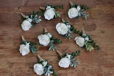 Winter Boutonniere, White Rose Boutonniere, Rustic Boutonniere, Boutonnieres, Corsage And Boutonniere, Wedding Boutonniere, Feather Boutonniere, Twine Flowers, Buttonhole Flowers