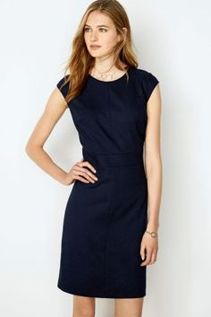 Next Stitch Detail Dress - Petite at EziBuy New Zealand. Buy women's, men's and kids fashion online. Party Dresses For Women, Dresses For Work, Capsule Wardrobe Work, Petite Dresses, Evening Dresses, Your Style, Stitch, Detail, Stuff To Buy