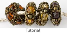 Beaded Bead Tutorial - Charm Bead