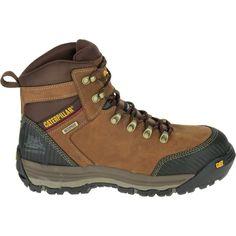 CAT Men's Munising 6'' Waterproof Composite Toe Work Boots, Brown