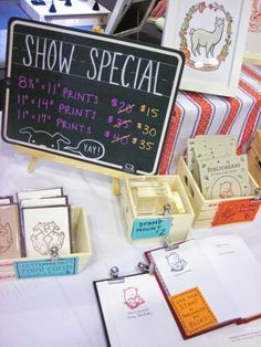 How to create great signage for craft shows #handmade #craftshow