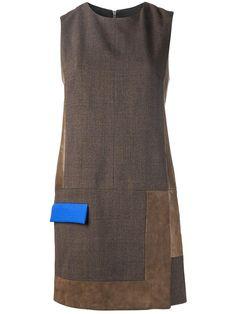 9891fe27d23d7 15 melhores imagens de Vestidos marrom bege