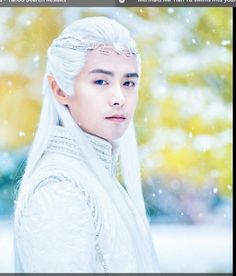 MA Tian Yu - C Pop and Chinese actor- Ice Fantasy and Legend of the Ancient Sword.