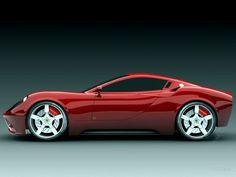 Dino Ferrari. Beautiful curves. Beauty in motion.