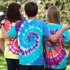 Projects + Inspiration Kids & Teachers Kids Crafts Best Friends Tie-Dye