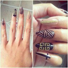 Modele unghii ascutite 4