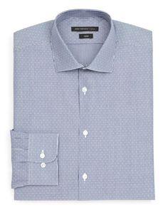 John Varvatos Stripe Dress Shirt - Slim Fit