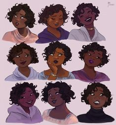 Emotions | Character Design Sheet | Character Design Inspiration | Character Model Sheet | Character Inspiration