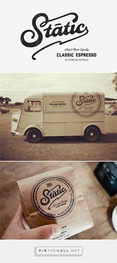 Static Coffee #logo #design by Salih Kucukaga