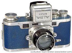 Pignons: Alpa Reflex II Blue camera