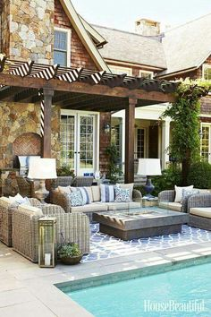 Covered Patio Vaulted Ceiling with Fireplace TV intersting finds