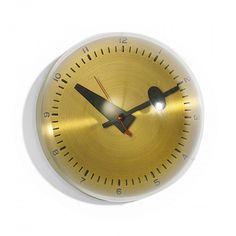 George Nelson & Associate,s #4759 Wall Clock for Howard Miller, c1949.