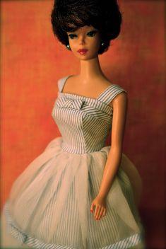 "Vintage Bubblecut Barbie dressed in ""Movie Date"" - Brunette | Flickr - Photo Sharing!"