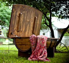 Barrel Coffee Table-