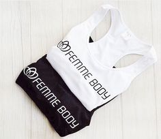Perfect workout pieces { monochrome tones } #femmebodyactive #movewithpurpose Perfect Workout, Body, Monochrome, Perfect Fit, Athletic Tank Tops, Collection, Women, Fashion, Woman