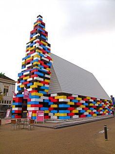 Lego's house of worship...
