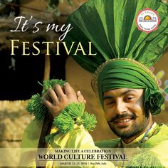 #Different #countries and #cultures #coming #together to #celebrate as #One #World #Family : #Vasudaiva #Kutumbakam! #WCF2016, #Delhi, #India