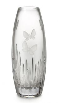 Waterford Crystal Butterfly Vase
