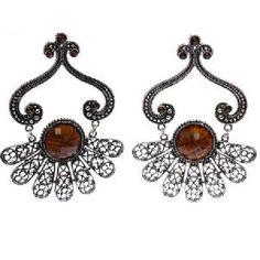 fashion bohemian earrings vintage jewellery bijoux west ear rings