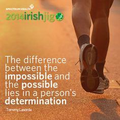 A little inspiration as you train for #irishjig2014!