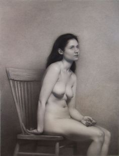 Richard Morris, The Waking Dream, Charcoal & Graphite on Paper