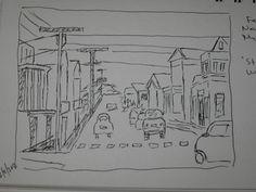 Stonington Village journal page