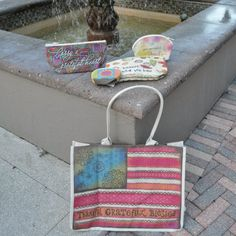 Beautiful fun bags and totes.  Pick the one that fits you…