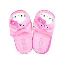 I love Hello Kitty slippers!
