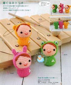 Album Archive - Amigurumi Small World Pattern Crochet Kawaii, Crochet Amigurumi, Crochet Books, Knit Or Crochet, Amigurumi Patterns, Amigurumi Doll, Crochet Crafts, Yarn Crafts, Crochet Projects