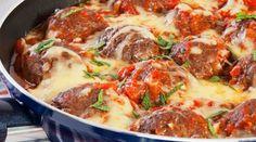 Hambúrguer pode até ser substituído por almôndegas na hora de preparar o prato