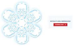 DIY The Walking Dead Snowflake