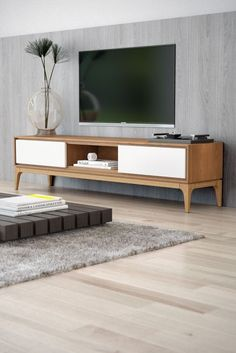 Joren TV Stand | Mid Century Modern | Kure Collection