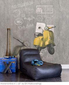 Behangcollectie Lef by BN Wallcoverings