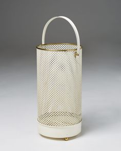 Waste paper basket in the style of Matégot, — Modernity