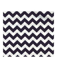 Navy Chevron Crib Sheet from our online shop!  #jandjdesigngroup  #munire #pinparty #MadeinUSA