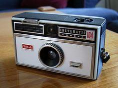 Kodak Instamatic 104 and Kodak Hawkeye Instamatic | Down the Road