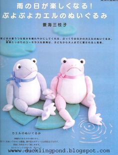 how to make sock frogs
