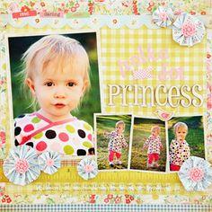 Scrapbook page idea - 4 pics by estela Scrapbook Sketches, Scrapbooking Layouts, Baby Scrapbook, Scrapbook Cards, Scrapbook Organization, Decorative Tape, Paper Crafts, Diy Crafts, 6 Photos
