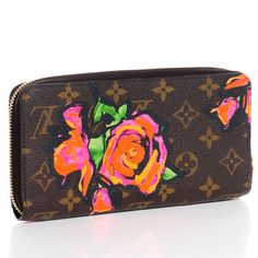 3e5d94fe744e LOUIS VUITTON Monogram Stephen Sprouse Roses Zippy Wallet
