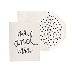 Crew - Sugar Paper® letterpress single cards-- where were these for my wedding? Wedding Stationary, Wedding Invitations, Invites, Stationery Design, Invitation Design, Wedding Cards, Wedding Paper, Wedding Bells, Wedding Gowns
