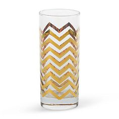 Golden Highball Glass (Chevron) http://www.cwonder.com/Categories/Sale/Home-and-Decor/Golden-Highball-Glasses-Set/product/CW-H-CO-TT-G-5F.html?publisherId=73861