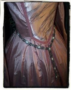 Bliss BlackTudor Girdle Belt Renaissance Dress Jewelry | eBay