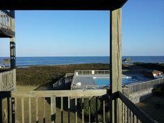 Oceanfront Condo - See Dolphins at Dawn from your deck! See ya in May :)OBX