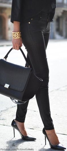 Cleverly Chic - Saturday Color: Blackest Black