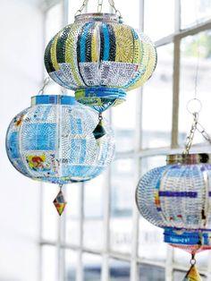 Orientalische Wohnaccessoires - dekoration - orientalisch- oosterse decoratie - lantaarns